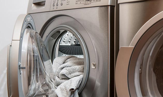 Water saving tips for doing laundry in a drought